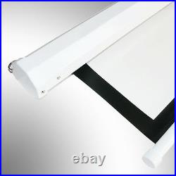 100 43/169 Electric Motorized Projector Projection Screen Home Cinema Theater