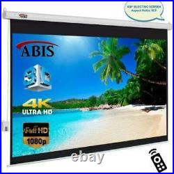 100 Electric 4K 3D Projector Screen for Home Cinema & Conference