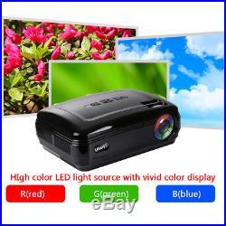 10000Lumens LED HD 1080P Projector Multimedia Home Theater Cinema USB/VGA/HDMI