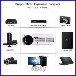 1080P 5500LX HD 3D WIFI Smart LED Projector Home Cinema Theater HDMI RJ45 USB TV