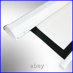 120 Motorised Electric Projector Screen Home Cinema HD DVD 43/169 Projection