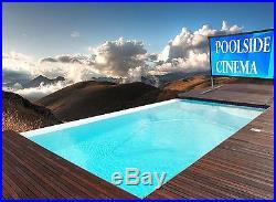 144 169 HDTV Outdoor Portable Projector Screen Home Theater Backyard Cinema
