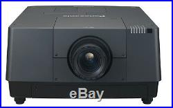 16.000 Lumens Panasonic Pt-ex16 High End Projector 4 Lamp System 25001 Contrast
