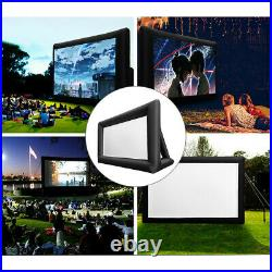 16Ft Inflatable Movie Screen Outdoor Projector Home Cinema Theatre Backyard 169