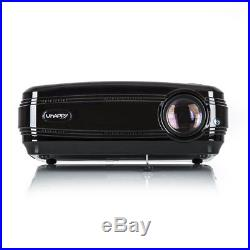 200 8000 Lumens LED Projector 1080P 3D Multimedia Home Theater Cinema HDMI USB