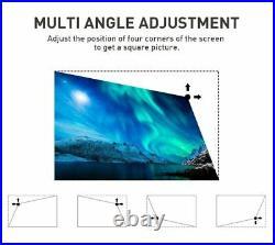 2000 lumens P09- Android 9.0 Wifi HD DLP 4K Mini Projector Miracast HDMI 1080P