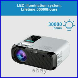 20000 Lumens Projector WiFi Bluetooth Andriod LED 1080P Home Theater Cinema HDMI