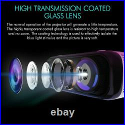20000 Lumens WiFi Bluetooth Andriod 1080P Projector LED Home Theater Cinema HDMI