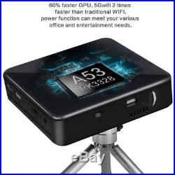 2018 HD 4K DLP 3D Home Theater Projector Wifi 1080P Mini Android Cinema 2G+16G