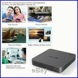 2019 HD 4K DLP HD Home Theater Projector WiFi 1080p Mini Android Cinema 16G UK