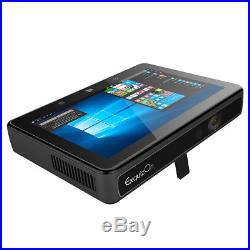 2GB+32GB Tableta PC DLP Proyector Táctil Windows10 Intel WiFi BT 6000LM 4K LAN