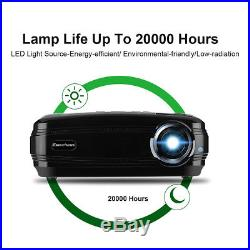 3200Lumen HD 1080P Home Theater Android WiFi 3D LED Projector BT HDMI VGA USB TV