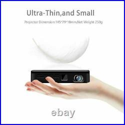 3500 Lumens Android 9.0 Projector HDMI USB SD Wifi 1080P HD 4K Mini Home Cinema