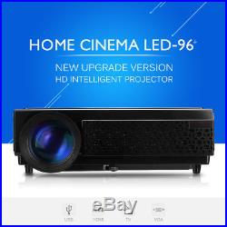 3D Projector 5000lm LCD HD 1080p Home Cinema Multimedia for Laptop Mobile 20001