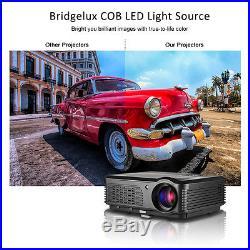 4200lumen LED Home Cinema Multimedia Projector 1080p HD Video TV USB HDMI VGA AV