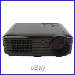 4600 Lumens 3D Full HD 1080P LED Projector Home Theater AV/VGA/USB/HDMI