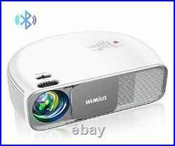 4K HD Video Bluetooth Projector, 7000 Lumens, Native 1920×1080P, Home TV Cinema