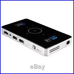 4K Wifi DLP HD Android Bluetooth Projektor Mini 3D Heimkino Beamer HDMI/USB/TF