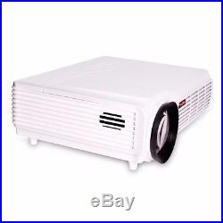 5000 Lumens Mini LED-96 HD 1080P 3D Full HD LCD Home Theater Projector Video TV