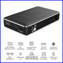 5000 lumens DLP Android Wifi 4K HD 1080P Home Theater Projector 2G+16G HDMI USB