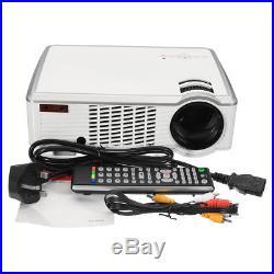 5500 Lumens 1080P HD 3D LED Projector Home Theater Cinema Multimedia HDMI USB AV