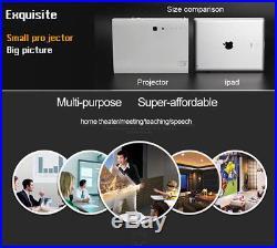 6000Lumens Wifi Mini Home Theater 3D DLP Laser Projector Full HD HDMI LED 1080P
