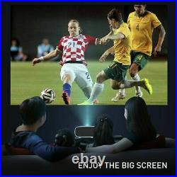 7000 Lumens Projector WiFi Android LED HD 1080P Home Theater Cinema HDMI USB AV