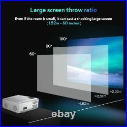8000 LM HD 1080P Android WiFi 3D Mini Video Projector Home Theatre Cinema HDMI