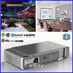 8500 LMS Full HD 1080P 4K DLP Projecteur Wifi 3D Théâtre Cinéma HDMI RJ45 SD NEW