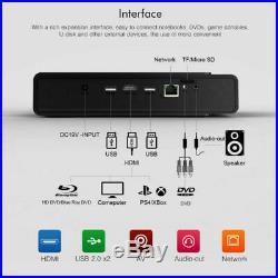 8500 Lumens DLP Wifi 3D 4K Home Theater Projector HD 1080P Cinema HDMI/USB/RJ45