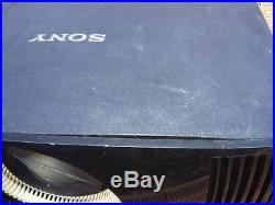 A SONY VPL VW500ES 4K SXRD Projector with a flashing warning light, see below