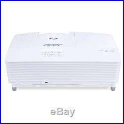 Acer X117H Weiss 3600 Ansi Lumen 3D Desktop Projektor Beamer DLP 3D Color Boost