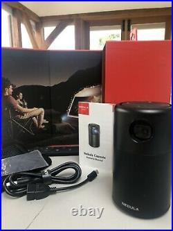 Anker Nebula Capsule D4111211, Smart Wi-Fi Mini Projector