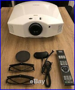 BUNDLE Boxed Sony VPL-HW40ES Home Cinema Projector (+Ceiling Mount & 3D kit)