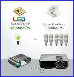 BYINTEK K9 Multiscreen Home Theater LCD LED Mini Projector 720p Support 1080p
