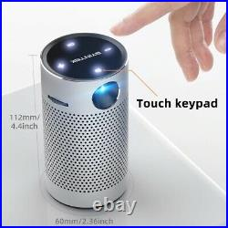 BYINTEK Mini Pocket Portable Projector Smart Android Wifi 1080P 4K TV LED Home