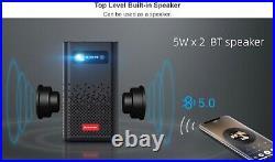 BYINTEK P20 Portable Pocket 4K 3D LED DLP Android 9.0 Smart Projector Gift Idea