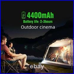 BYINTEK P7 proiettore DLP per Cinema Android Wifi 1080P 4K TV Laser Mini LED