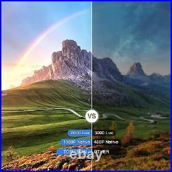 Beamer Heimkino-Beamer, 8000 Lumen, Native 1080p, LCD Beamer Full HD, 10000 1