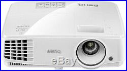 BenQ MS527 DLP Beamer, SVGA, 3.300 ANSI Lumen, 13.0001 Kontrast, Weiß in OVP