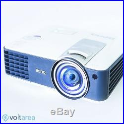 BenQ MW817ST DLP Projector Short-Throw HDMI with remote 3D 3000 ANSI NEW LAMP