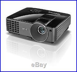 BenQ MX520 3D HD HDMI HOME CINEMA Projector 3000 Lumens NEW LAMP WARRANTY