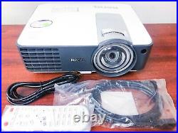 BenQ MX819 Short-Throw Projector 3D ready 3000 ANSI withremote new lamp