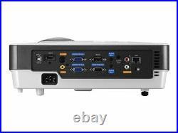 Benq Mx813st Hdmi 2700 Lumens Home Cinema Short Throw 3d Projector New Lamp