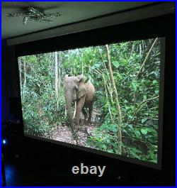 Benq Projector 4k W1700 Home Cinema With 2.6m Sapphire Electric 106 Screen