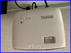 Benq projector 4k, white, excellent condition