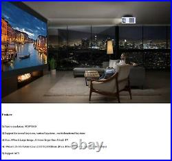 Byintek K20 Smart Projector 6000 Lumens 3D 4K LED WIFI Home Theater Android OS