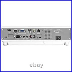 Casio xj-m245 LED DLP Laser HDMI 1080p Home Cinema Projector 2500 Lumens wxga