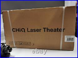 ChangHong CHiQ B5U 4K UHD Laser Ultra Short Throw Projector with Amazon FireTV