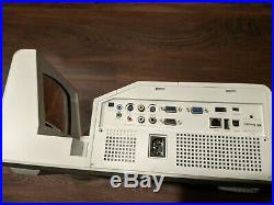 DELL S500WI DLP Projector 3200 Lumens 3D Interactive Ultra Short Throw bundle
